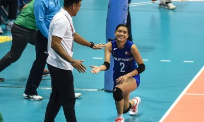 Tiebreaker Times Valdez, Mau banner PWNVT SEA Games team as Dimaculangan added 2019 SEA Games News Volleyball  Shaq delos Santos Rhea Dimaculangan Mylene Paat Mika Reyes Majoy Baron Maddie Madayag Kath Arado Kalei Mau Jovelyn Gonzaga Jia Morado Eya Laure Dawn Macandili Ces Molina Alyssa Valdez Aby Marano 2019 SEA Games - Volleyball 2019 SEA Games