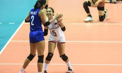 Tiebreaker Times Valdez makes triumphant ASEAN Grand Prix debut as Philippines subdues Vietnam News Volleyball  Vietnam (Philippines) Tu Linh Tran Thi Nga Bui Thi Kieu Trinh Hoang Shaq delos Santos Philippine Women's National Volleyball Team Mylene Paat Majoy Baron Jia Morada Dawn Macandili Ces Molina Alyssa Valdez Aby Marano 2019 SEA Grand Prix