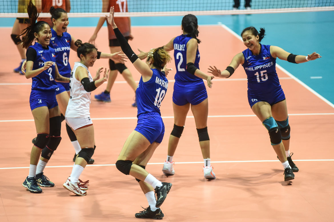 Tiebreaker Times Jasmine Nabor out to prove she's worthy of PWNVT spot News Volleyball  Philippine Women's National Volleyball Team Jasmine Nabor 2019 SEA Grand Prix