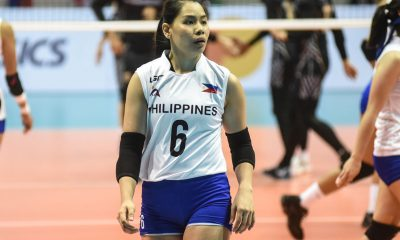 Tiebreaker Times Ces Molina remains undeterred amid criticisms News Volleyball  Philippines Women's National Volleyball Team Ces Molina 2019 SEA Grand Prix