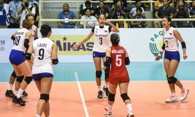 Tiebreaker Times Philippines suffers heartbreaker to Indonesia, settles for bronze anew News Volleyball  Shaq delos Santos Ratri Wulandari Philippine Women's National Volleyball Team Mylene Paat Majoy Baron Jia Morado Indonesia (Volleyball) Hangestri Pertiwi Dawn Macandili Ces Molina Arsela Nuari Purnama Alyssa Valdez 2019 SEA Grand Prix