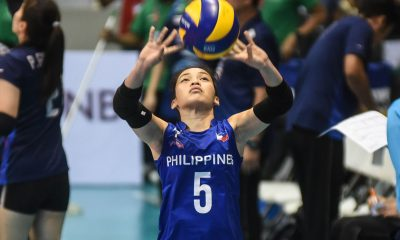 Tiebreaker Times Baron captures Best Middle Blocker anew; Macandili wins Best Libero News Volleyball  Ratri Wulandari Pleumjit Thinkaow Philippine Women's National Volleyball Team Mutiara Lutfi Tri Retno Majoy Baron Dawn Macandili 2019 SEA Grand Prix