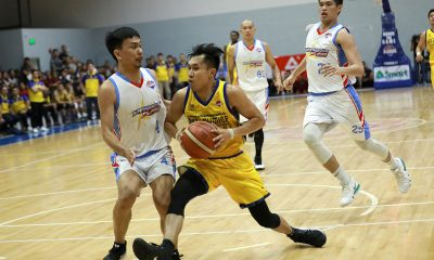 Tiebreaker Times After nightmare Mila's experience, Leo Gabo finds redemption, crown Basketball News PBA D-League  Leo Gabo BRT Sumisip-St. Clare Saints 2019 PBA D-League Foundation Cup