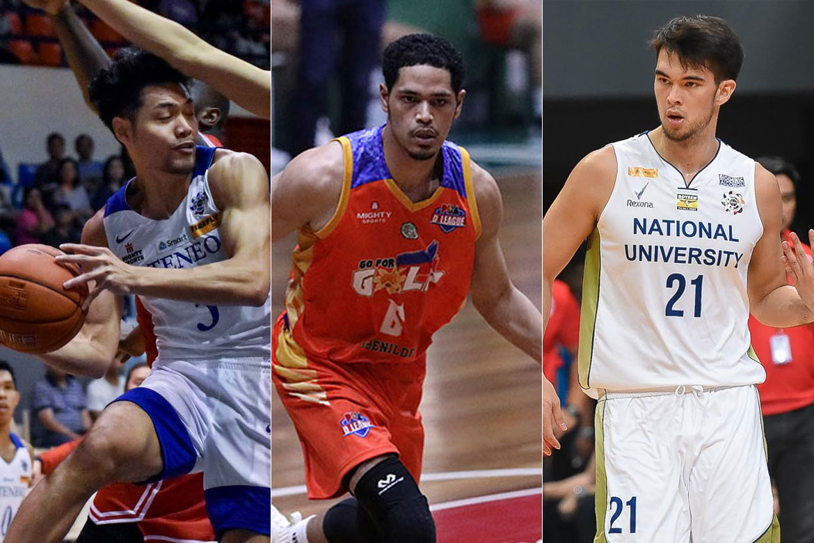 Tiebreaker Times Adams, Wong, Johnson headline Fil-foreigners in PBA Draft Basketball News PBA  Vince Tolentino Troy Rike Sean Manganti Roosevelt Adams Mark Taylor Jason Riley Franky Johnson Daryl Singontiko Adrian Wong 2019 PBA Draft
