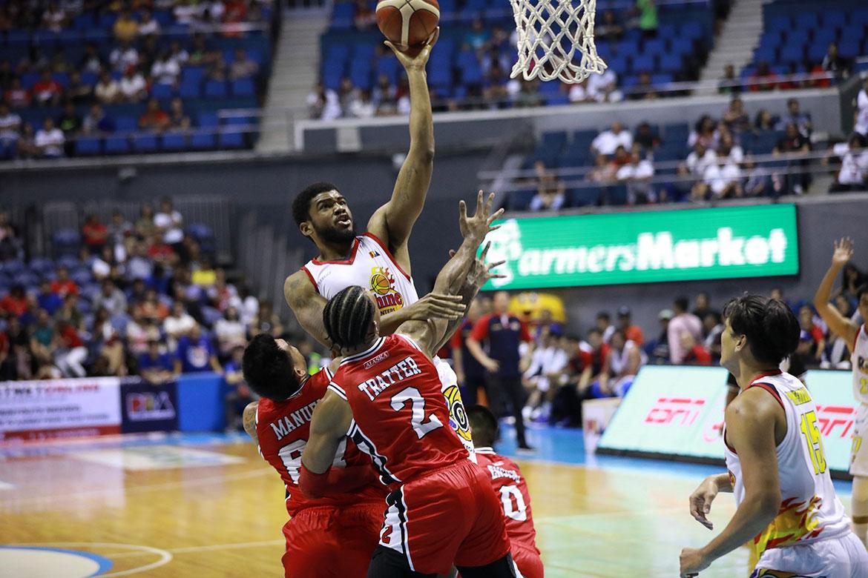 Tiebreaker Times Caloy Garcia hints at import switch Basketball News PBA  Rain or Shine Elasto Painters PBA Season 44 Kayel Locke Caloy Garcia 2019 PBA Governors Cup