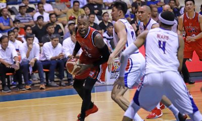 Tiebreaker Times Blackwater now at ease as Blakely takes full-time import spot Basketball News PBA  PBA Season 44 Marqus Blakely Blackwater Elite Aris Dimaunahan 2019 PBA Governors Cup