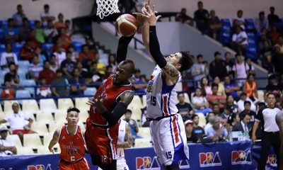 Tiebreaker Times Blakely makes statement as Blackwater hands Magnolia back-to-back losses Basketball News PBA  PBA Season 44 magnlia hotshots Chito Victolero Blackwater Elite Aris Dimaunahan 2019 PBA Governors Cup