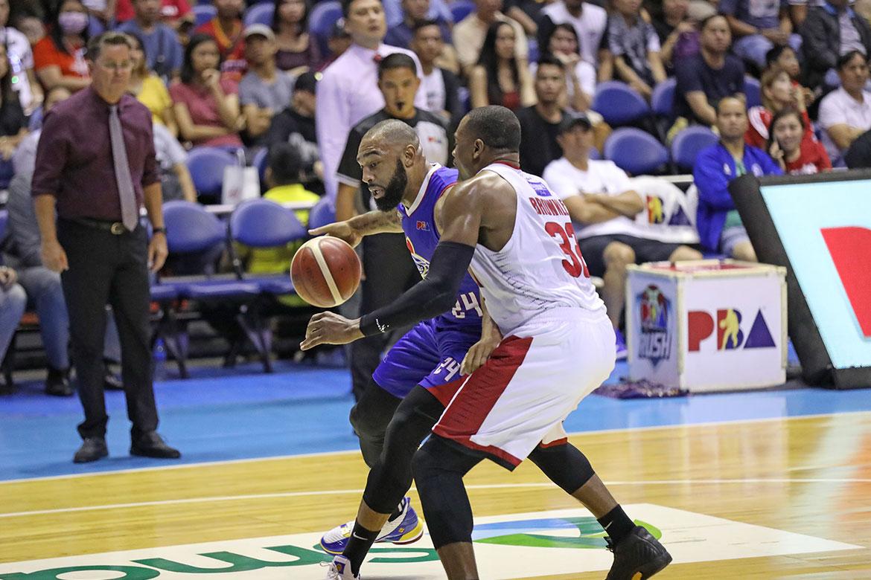 Tiebreaker Times Rust spoils Romeo Travis' Magnolia return Basketball News PBA  Romeo Travis PBA Season 44 Magnolia Hotshots 2019 PBA Governors Cup