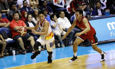 Tiebreaker Times Rey Nambatac relieved injury turns out nothing serious Basketball News PBA  Rey Nambatac Rain or Shine Elasto Painters PBA Season 44 2019 PBA Governors Cup