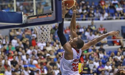 Tiebreaker Times Justin Brownlee making triple-doubles a norm Basketball News PBA  Tim Cone PBA Season 44 Justin Brownlee Barangay Ginebra San Miguel 2019 pba goevrnors cup