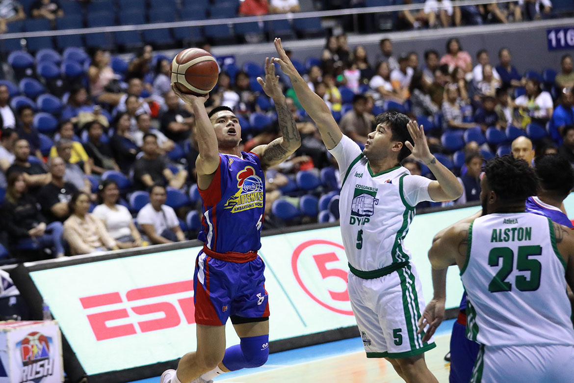 Tiebreaker Times Jio Jalalon made sure to repay Rene Pardo's trust Basketball News PBA  Rene Pardo PBA Season 44 Magnolia Hotshots Jio Jalalon 2019 PBA Governors Cup