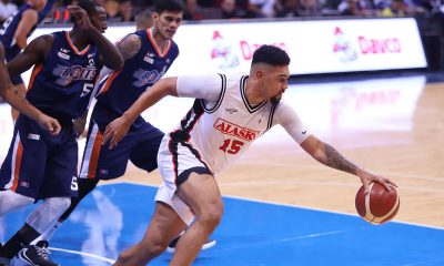 Tiebreaker Times Frank House admits not being used to being sole import Basketball News PBA  PBA Season 44 Frank House Alaska Aces 2019 PBA Governors Cup