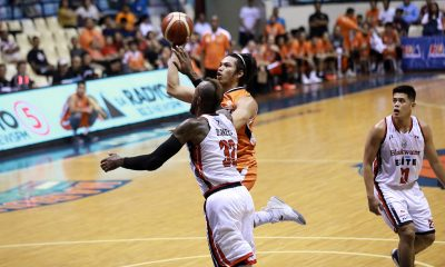 Tiebreaker Times From creator, Bong Quinto learning to be a floor-spacer Basketball News PBA  PBA Season 44 Meralco Bolts Bong Quinto 2019 PBA Governors Cup
