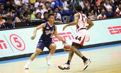 Tiebreaker Times 'Sniper' Baser Amer attributes showings to extra work he puts in Basketball News PBA  PBA Season 44 Norman Black Meralco Bolts Baser Amer 2019 PBA Governors Cup