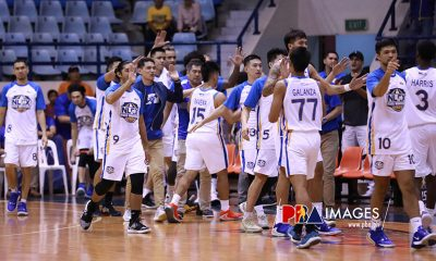 Tiebreaker Times Kevin Alas spills gin on Ynares to 'break bad spirit' Basketball News PBA  PBA Season 44 NLEX Road Warriors Kiefer Ravena Kevin Alas 2019 PBA Governors Cup