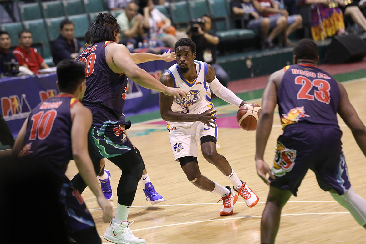 Tiebreaker Times With defenses zoning on him, Manny Harris shows new facet in game Basketball News PBA  Yeng Guiao PBA Season 44 NLEX Road Warriors manny harris 2019 PBA Governors Cup