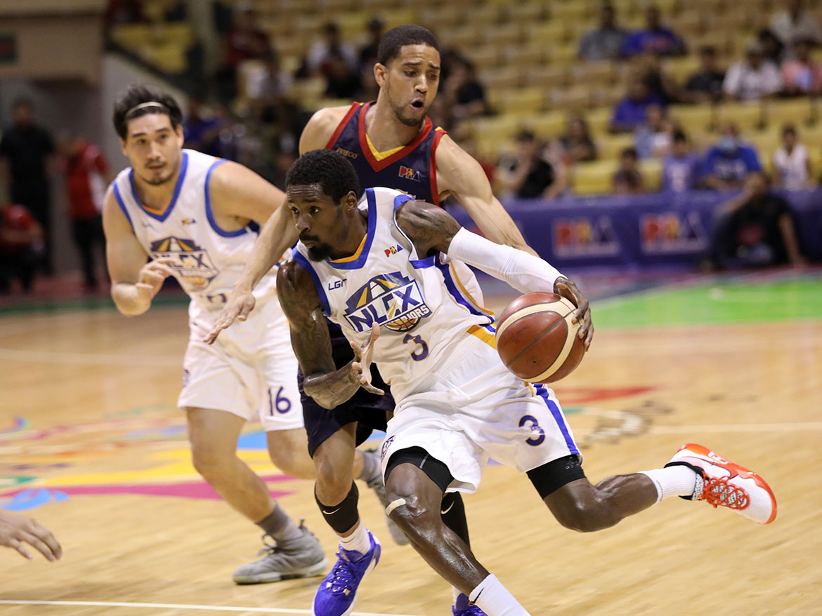 Tiebreaker Times Manny Harris triple-double powers NLEX's rout of Rain or Shine Basketball News PBA  Yeng Guiao Rain or Shine Elasto Painters PBA Season 44 NLEX Road Warriors manny harris Caloy Garcia 2019 PBA Governors Cup