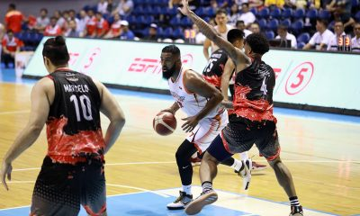 Tiebreaker Times NorthPort averts collapse vs Phoenix, halts four-game skid Basketball News PBA  Pido Jarencio Phoenix Fuel Masters PBA Season 44 Paolo Taha Northport Batang Pier Mychal Ammons Mo Tautuaa Louie Alas Eugene Phelps Alex Mallari 2019 PBA Governors Cup