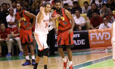 Tiebreaker Times Nothing personal but Standhardinger out to prove that San Miguel made a mistake Basketball News PBA  PBA Season 44 Northport Batang Pier Christian Standhardinger 2019 PBA Governors Cup