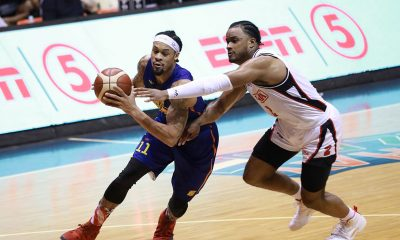 Tiebreaker Times KJ McDaniels takes over, leads TNT past Alaska in OT Basketball News PBA  TNT Katropa PBA Season 44 KJ McDaniels Jeffrey Cariaso Bong Ravena Alaska Aces 2019 PBA Governors Cup