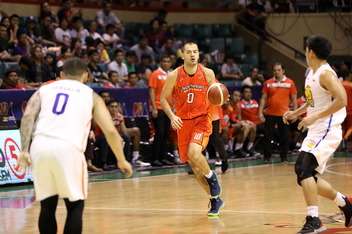 Tiebreaker Times TNT beat Northport, not missed calls, says Sean Anthony Basketball News PBA  Sean Anthony PBA Season 44 Northport Batang Pier 2019 PBA Governors Cup