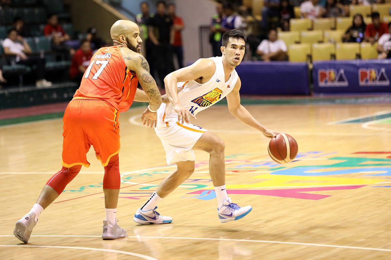 Tiebreaker Times Troy Rosario steps up when TNT needed him most Basketball News PBA  Troy Rosario TNT Katropa PBA Season 44 2019 PBA Governors Cup