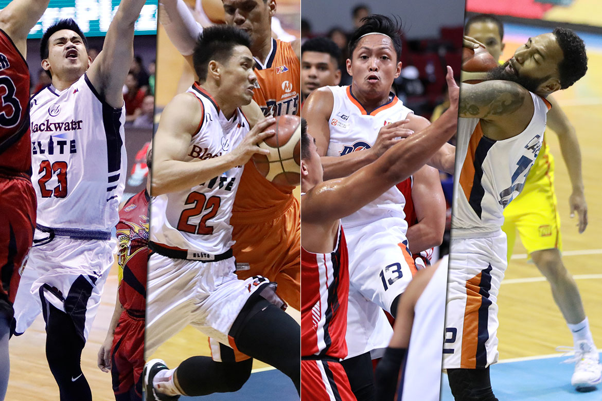Tiebreaker Times SOURCES: Blackwater-Meralco trade rejected by PBA Basketball News PBA  Raymar Jose PBA Transactions PBA Season 44 Mike Tolomia Meralco Bolts KG Canaleta Blackwater Elite Allein Maliksi 2019 PBA Governors Cup