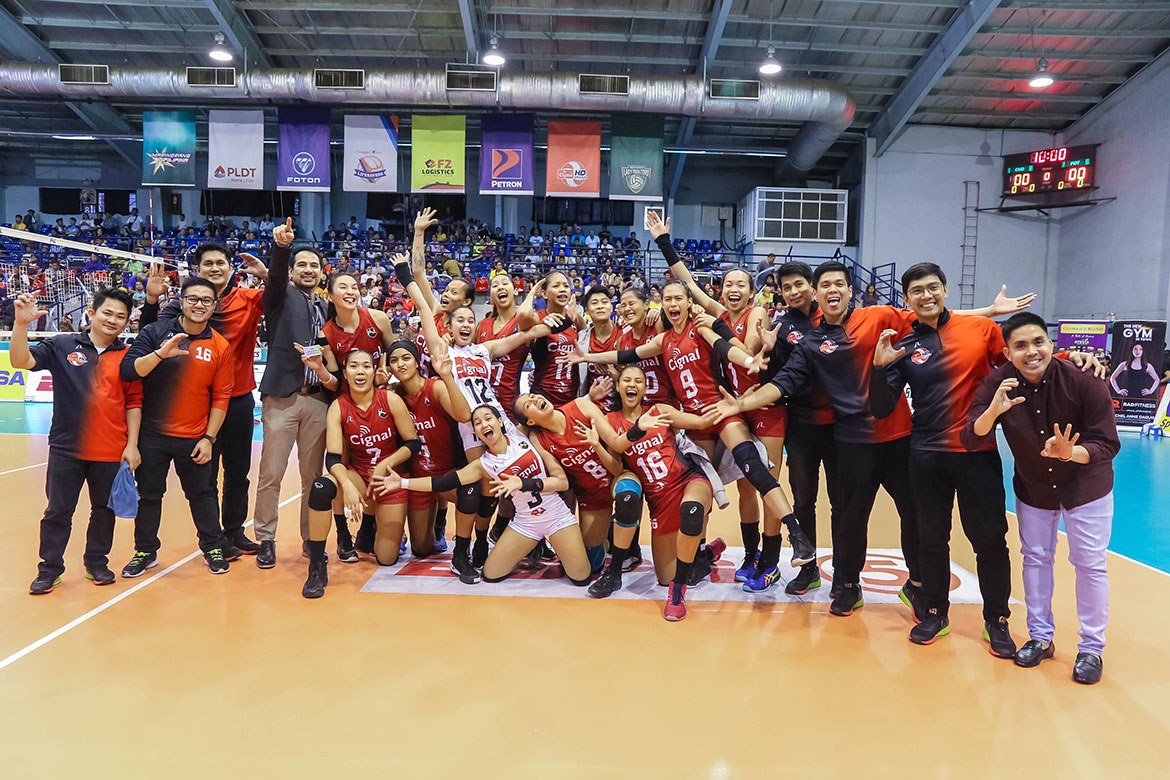 Tiebreaker Times Cignal takes down Foton to settle for PSL Invitationals bronze News PSL Volleyball  Rose Doria Rachel Daquis Mylene Paat Marian Buitre Jheck Dionela Foton Tornadoes Edgar Barroga CJ Rosario Cignal HD Spikers Alohi Robins-Hardy Aaron Velez 2019 PSL Season 2019 PSL Invitational Cup