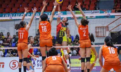 Tiebreaker Times Dy, Baron tower over Generika-Ayala as F2 Logistics cements semis berth News PSL Volleyball  Sherwin Meneses Ramil De Jesus Patty Orendain Mean Mendrez Majoy Baron Kim Fajardo Kim Dy Generika-Ayala Lifesavers Fiola Ceballos F2 Logistics Cargo Movers Dawn Macandili 2019 PSL Season 2019 PSL Invitational Cup