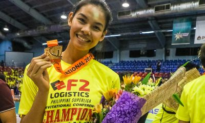 Tiebreaker Times Blessings continue to pour in for Majoy Baron News PSL Volleyball  Majoy Baron F2 Logistics Cargo Movers 2019 PSL Season 2019 PSL Invitational Cup