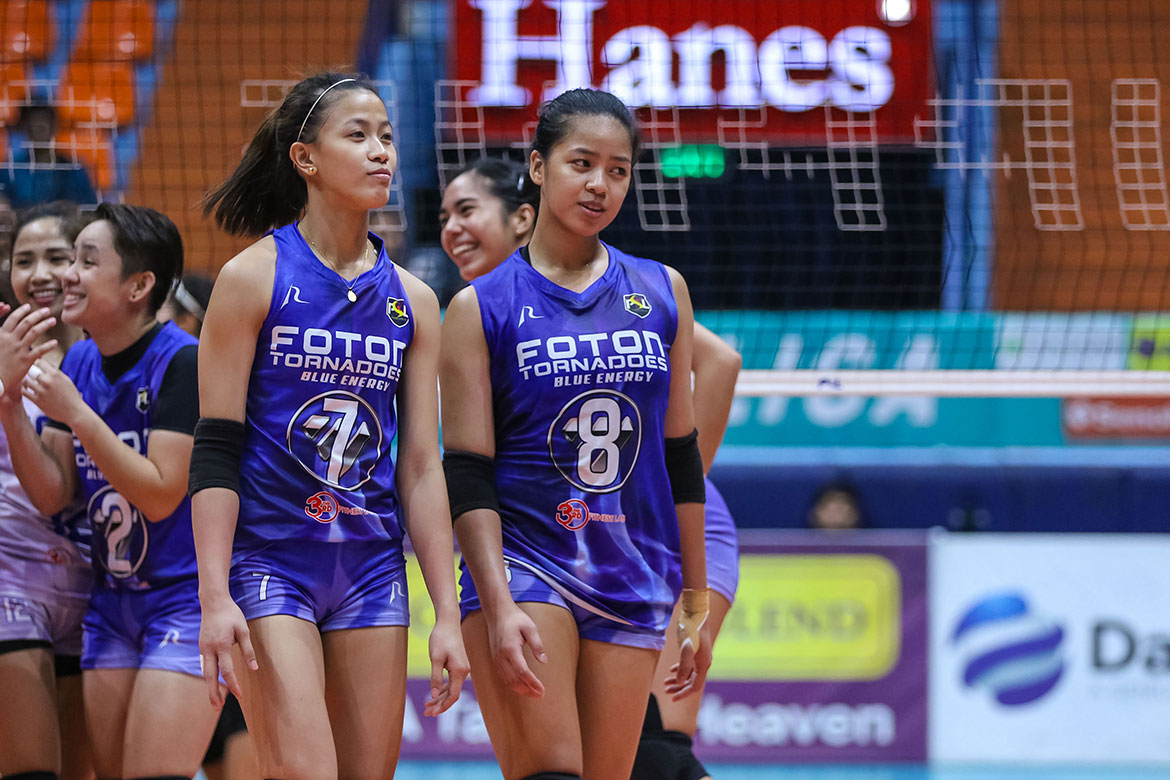 Tiebreaker Times After PVL heartbreak, Laure sisters to go all out for Foton News PSL Volleyball  Foton Tornadoes Eya Laure EJ Laure 2019 PSL Season 2019 PSL Invitational Cup