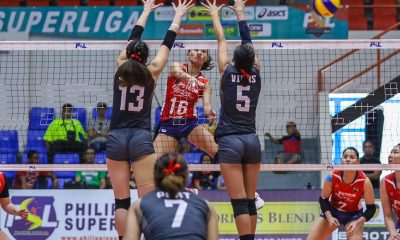 Tiebreaker Times Rondina erupts for 33 as Petron quells Cignal to remain unbeaten News PSL Volleyball  Shaq delos Santos Petron Blaze Spikers Mylene Paat Jovelyn Gonzaga Edgar Barroga Cignal HD Spikers Bernadeth Pons Angelica Legacion Aiza Maizo-Pontillas 2019 PSL Season 2019 PSL Invitational Cup