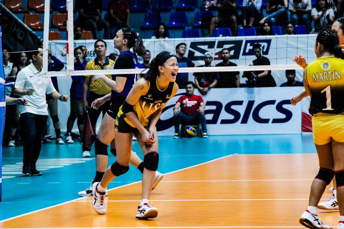 Tiebreaker Times EJ Laure starting to show old, deadly form for UST News PVL UP Volleyball  UST Women's Volleyball Kungfu Reyes EJ Laure 2019 PVL Season 2019 PVL Collegiate Conference
