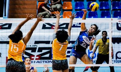 Tiebreaker Times Bombita drops 26 points as Bali Pure stuns Air Force News PVL Volleyball  Vira Guillema Philippine Air Force Jet Spikers Menchie Tubiera May Ann Pantino Jasper Jimenez Grazielle Bombita Glyka Medina Dell Palomata Bali Pure Purest Water Defenders 2019 PVL Season 2019 PVL Open Conference