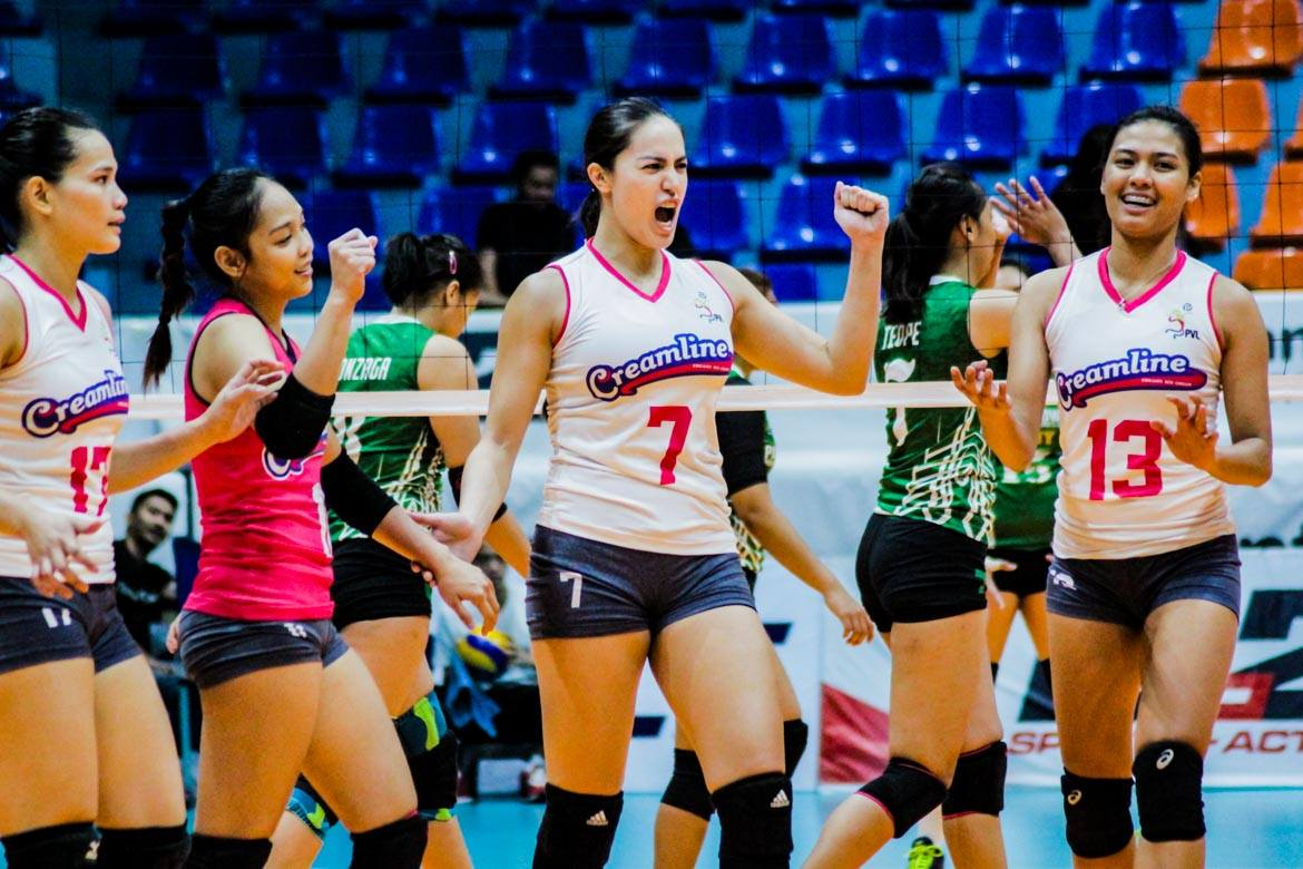 Tiebreaker Times For the Love of Volleyball: Gumabao aims to bridge gap between sports and pageantry News PVL Volleyball  Michele Gumabao Creamline Cool Smashers Coronavirus Pandemic 2020 PVL Season