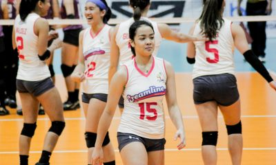 Tiebreaker Times Creamline puts on show in Iloilo at Choco Mucho's expense News PVL Volleyball  Tai Bundit Shannen Palec Risa Sato Oliver Almadro Michelle Gumabao Michele Gumabao Kyla Atienza Kat Tolentino Jia Morado Jema Galanza Creamline Cool Smashers Choco Mucho Flying Titans Celine Domingo 2019 PVL Season 2019 PVL Open Conference