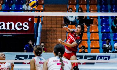 Tiebreaker Times Myla Pablo vows to play through pain for Motolite News PVL Volleyball  Myla Pablo Motolite 2019 PVL Season 2019 PVL Open Conference