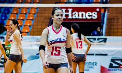 Tiebreaker Times Galanza rips BanKo as Creamline moves to step closer to elims sweep News PVL Volleyball  Tai Bundit Sue Roces Rose Vargas Perlas Lady Spikers Pau Soriano Nina Balang Nicole Tiamzon Michele Gumabao Kyle Negrito Kyla Atienza Jema Galanza Jem Ferrer Creamline Cool Smashers Apichat Kongsaiwat 2019 PVL Season 2019 PVL Open Conference