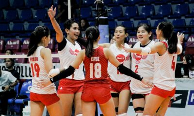 Tiebreaker Times Petro Gazz survives PacificTown–Army in Iloilo to stretch streak to eight News PVL Volleyball  petro grazz angels Pacific Town-Army Lady Troopers Nene Bautista Lutgarda Malaluan Kungfu Reyes Kai Baloaloa Jovie Prado Jovelyn Gonzaga Jonah Sabete Ging Balse-Pabayo Cherry Nunag Arnold Laniog 2019 PVL Season 2019 PVL Open Conference