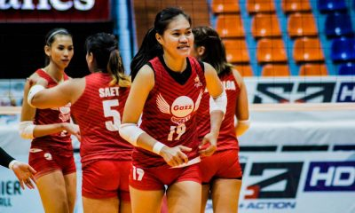 Tiebreaker Times Petro Gazz solidifies hold of solo second, silences Bali Pure News PVL Volleyball  Rommel Abella Petro Gazz Angels Menchie Tubiera Jovie Prado Jonah Sabete Chie Saet Bali Pure Purest Water Defenders Arnold Laniog 2019 PVL Season 2019 PVL Open Conference
