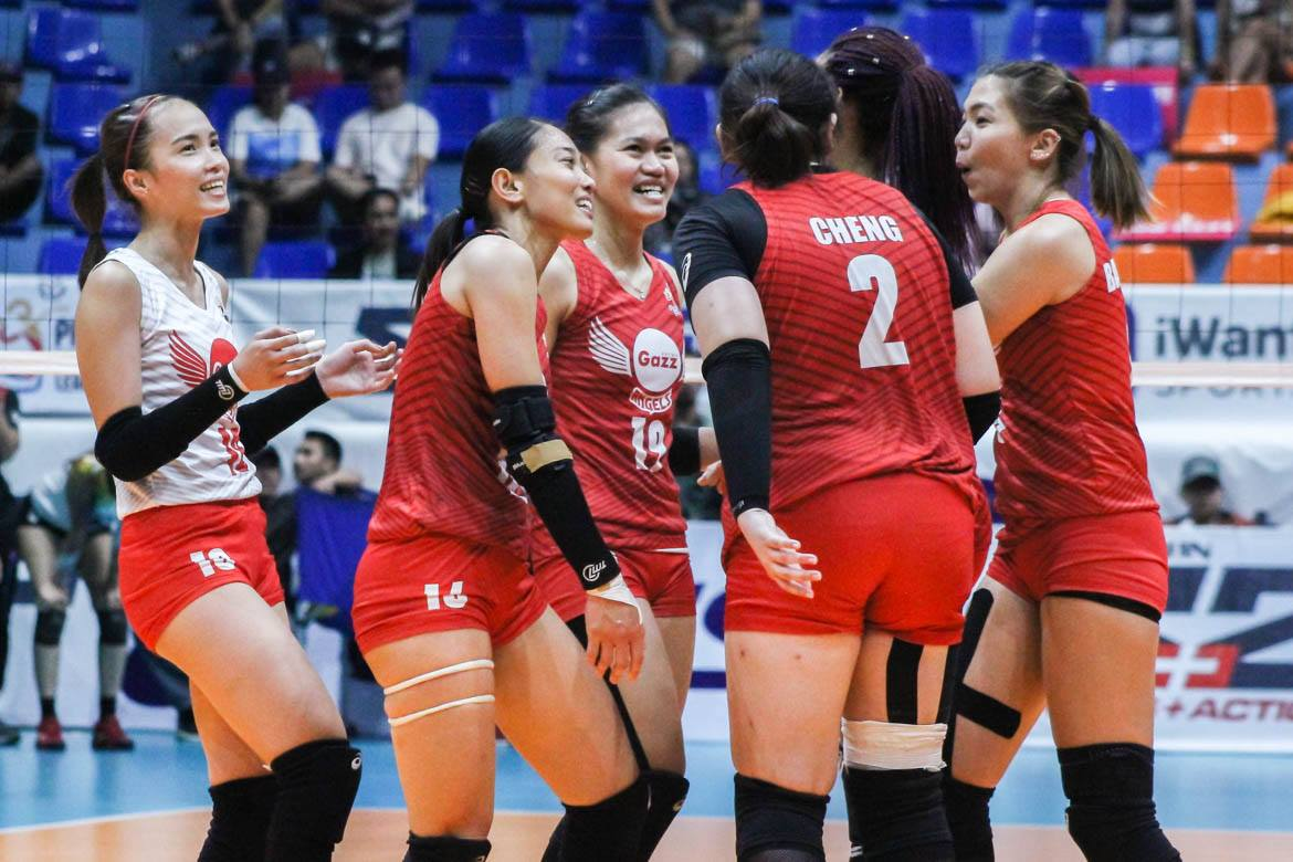 Tiebreaker Times Petro Gazz Angels out to prove naysayers wrong News PVL Volleyball  Petro Gazz Angels Jovie Prado Jonah Sebete Arnold Laniog 2019 PVL Season 2019 PVL Open Conference
