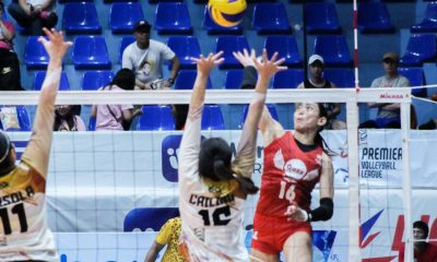Tiebreaker Times Petro Gazz dispatches BanKo, soars to second straight Finals appearance News PVL Volleyball  Rose Cailing Petro Gazz Angels Perlas Lady Spikers Paneng Mercado Nicole Tiamzon Jovie Prado Jonah Sebete Dzi Gervacio Cienne Cruz Chie Saet Arnold Laniog Apichat Kongsaiwat 2019 PVL Season 2019 PVL Open Conference