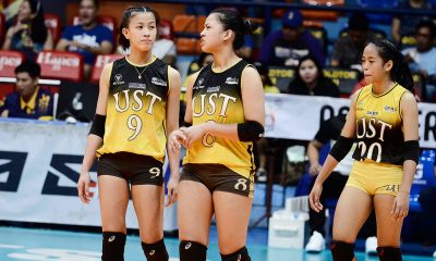 Tiebreaker Times EJ Laure banking on sister Eya's guidance in return News UAAP UST Volleyball  UST Women's Volleyball UAAP Season 82 Women's Volleyball UAAP Season 82 Eya Laure EJ Laure