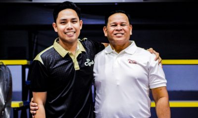 Tiebreaker Times Dexter Clamor on success: 'I give all the credit to Coach Sammy' News Spikers' Turf UPHSD Volleyball  Sammy Acaylar Perpetual Men's Volleyball Dexter Clamor Cignal HD Spikers 2019 Spikers Turf Season 2019 Spikers Turf Open Conference
