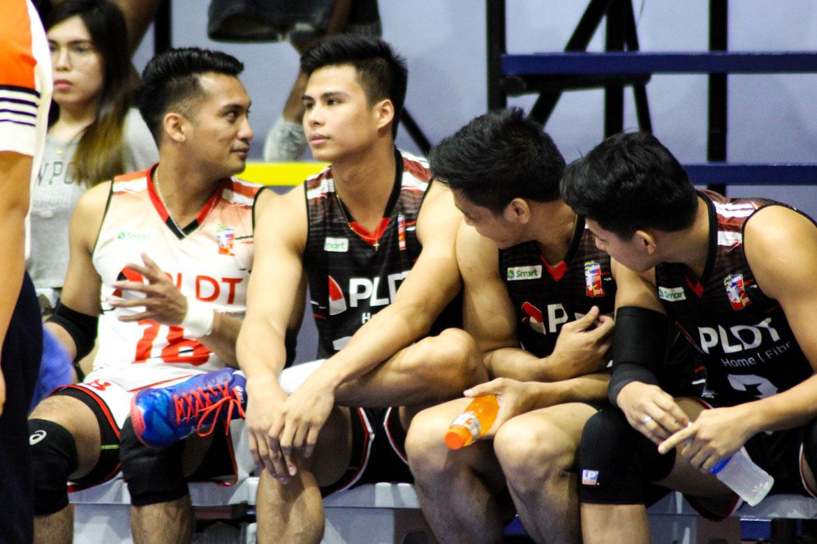Tiebreaker Times John Vic De Guzman left devastated after missing PLDT QF game News Spikers' Turf Volleyball  PLDT Home Fibr Power Hitters John Vic De Guzman 2019 Spikers Turf Season 2019 Spikers Turf Open Conference
