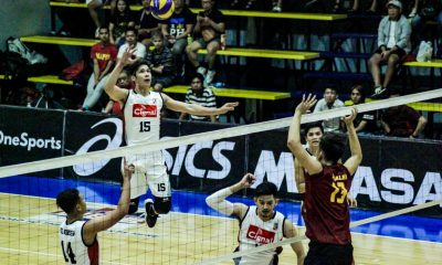 Tiebreaker Times Cignal boots out Perpetual, books Spikers' Turf Finals trip News Spikers' Turf UPHSD Volleyball  Wendel Miguel Sammy Acaylar perpetual seniors volleyball Marck Espejo Kennry Malinis Dexter Clamor Cignal HD Spikers Alfred Valbuena 2019 Spikers Turf Season 2019 Spikers Turf Open Conference