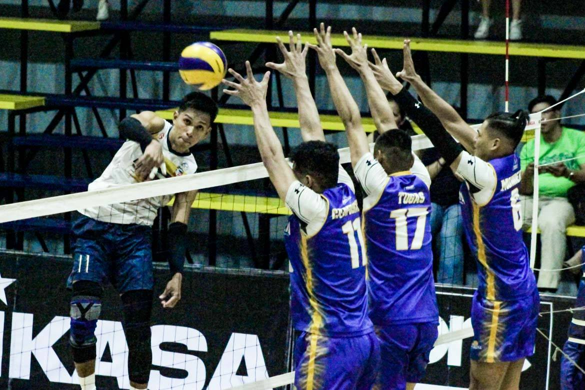 Tiebreaker Times Air Force completes comeback vs Sta. Elena, set up showdown with Cignal News NU Spikers' Turf Volleyball  Sta. Elena-National University Ball Wreckers RanRan Abdilla Philippine Air Force Jet Spikers Nico Almendras Kim Malabunga Joshua Retamar Jessie Lopez Fauzi Ismail Edward Camposano Dong dela Cruz 2019 Spikers Turf Season 2019 Spikers Turf Open Conference