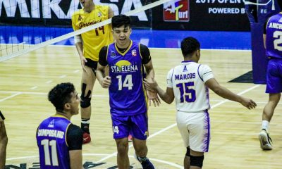 Tiebreaker Times Sta. Elena-NU sweeps Perpetual, seal Spikers' Turf bronze News NU Spikers' Turf UPHSD Volleyball  Sta. Elena-National University Ball Wreckers Perpetual Men's Volleyball Nico Almendras Kennry Malinis James Natividad Idin Daymil Edward Camposano Dong dela Cruz 2019 Spikers Turf Season 2019 Spikers Turf Open Conference