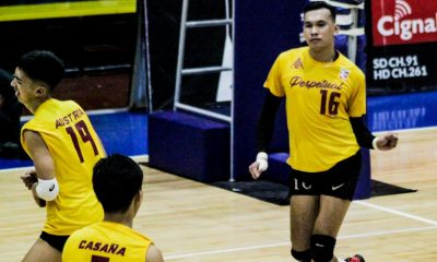 Tiebreaker Times Perpetual sinks Navy in five sets to progress to Finals Four News Spikers' Turf UPHSD Volleyball  Sammy Acaylar Ronniel Rosales Relan Taneo Philippine Navy Sea Lions Perpetual Men's Volleyball Kennry Malinis Joeven Dela Vega Joebert Almodiel Jack Kalingking Greg Dolor EJ Casana 2019 Spikers Turf Season 2019 Spikers Turf Open Conference