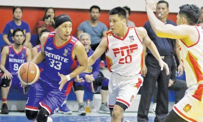 Tiebreaker Times Malacanang-PSC storm back to stun NHA in UNTV Cup Basketball News UNTV Cup  PITC Global Traders PhilHealth Advocate NHA Builders Malacanang-PSC Kamao Louie Lopez Judiciary Magis Joseph Roque Ian Garrido Haddi Porto GSIS Furies Erik Dionisio Eric Salamat Eric Dela Cuesta Christopher Dela Cruz Chester Tolomia AJ Vitug 2019 UNTV Cup